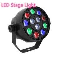 RGB 8 Channel LED Stage Light With12 LED Par Light RGB PAR LED DMX Stage Lighting