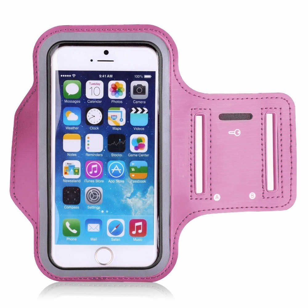 Purple Sports Running Jogging Gym Armband Case Cover for iPod Touch 6