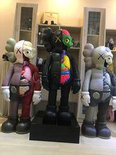 [Новинка] Оригинальные бутафорские фигурки kaws 130 см 4ft kaws dissected 1:1 Коллекция Фигурки игрушки Оригинальные поддельные модели украшения дома подарок