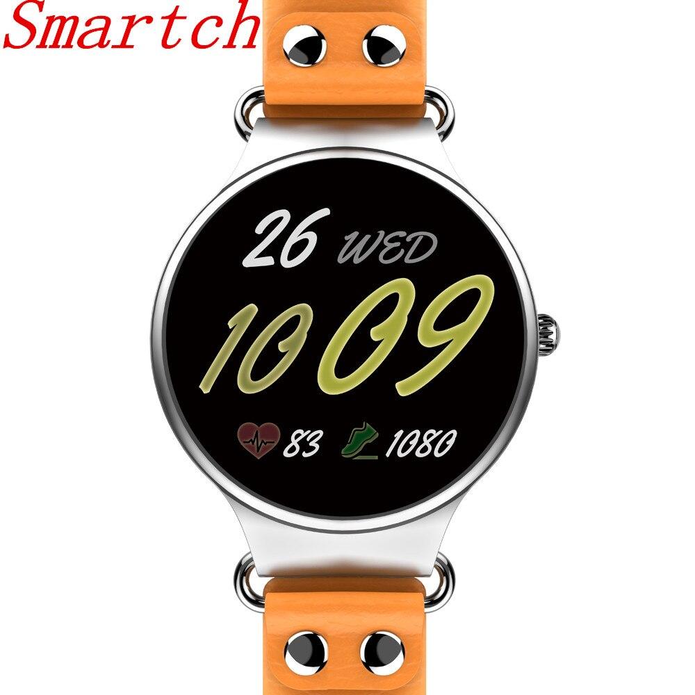 Smartch KW98 montre intelligente Android iOS Smartwatch intelligente santé sport Tracker horloge avec fréquence cardiaque GPS WIFI 3G téléphone montre
