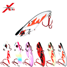 Купить с кэшбэком XTS Fishing Lure 7g 10.5g 14g 21g Wobblers Artificial Hard Metal Lure Sinking Swimbait 6 Colors Jigging Spoon Fishing BaitKJS002