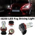 2 pcsFor Lexus IS250 2006-2014 Acessórios Fog Lâmpada Luz Bulb1 Nonpolarity samsung chip de 15 W h8/h9/h11 carro levou luz Lâmpada LED