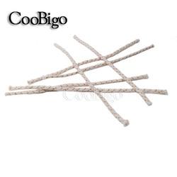 50 sztuk/zestaw zamiennik miedziany drut lżejszy bawełniany rdzeń knot dla Zippo zapalniczka benzynowa zapalniczka naftowa akcesoria