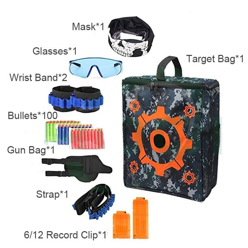 Tactical Equipment Target Gun Shuttle Bullet For Nerf Magazine Gun Accessories Bullet Clip Compatible Nerf Gun Nerf Accessories Professional Design Toys & Hobbies Toy Guns