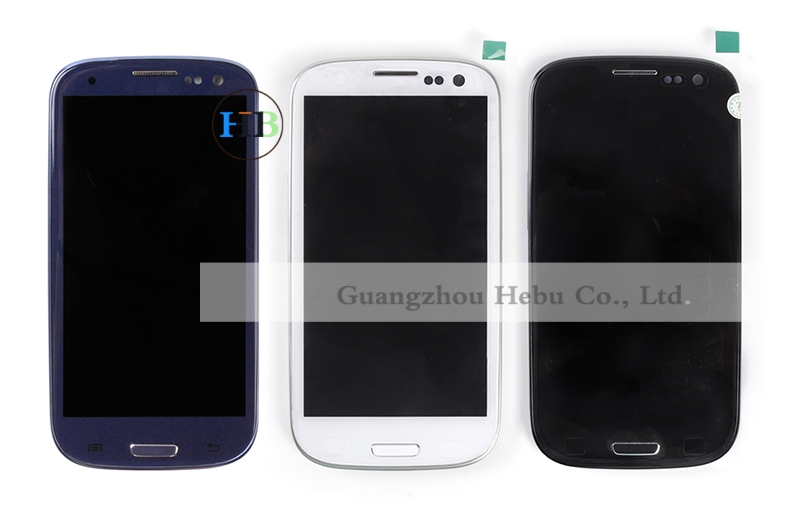 Brand New I9300 Lcd I9301 LCD Free Shipping For Samsung S3 Lcd Screen+Touch Screen Digitizer+Bezel Frame For Galaxy I9305 Lcd brand new j2 2016 lcd free shipping j210