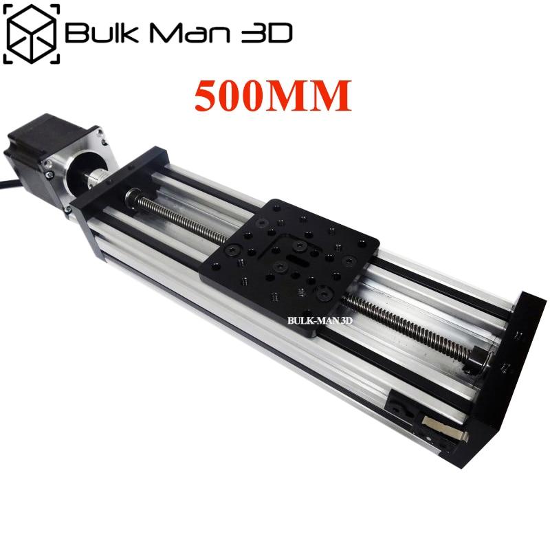 C Beam Linear Actuator Bundle Kit Diy C Beam Linear Kit length 500mm with Nema 23