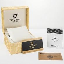 Tevise часы марки поле прочный Чехол подарок Подарочная коробка для браслет ювелирные высококлассные Часы коробка