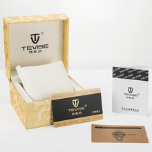 Tevise Brand watch box Durable Present Gift Box Case For Bracelet Bangle Jewelry Upscale Watch Box