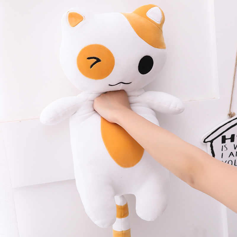 Горячая новинка 2019 года Kawaii Плюшевые игрушки для кошек укомплектованы милый кот куклы дети подарок кукла милые игрушечные Животные украшения дома мягкая кошка подушки