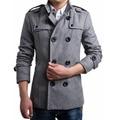 Jacket Men Winter 2017 Coat Male Bomber Jacket Men 50% Wool Business CasualPalace Brand Outwear Mens Cotton Jackets Clothing 3XL