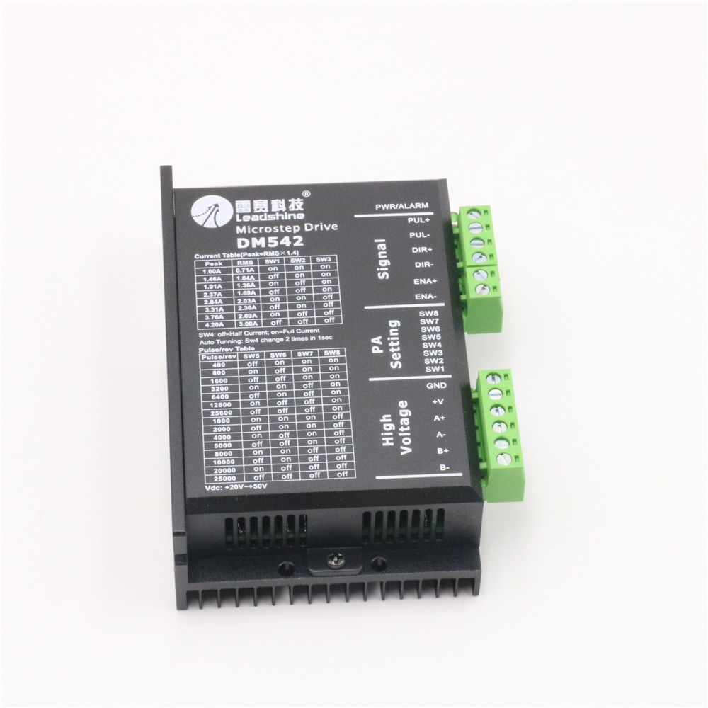 US $57 6 |Leadshine 2 Phase Stepper Driver DM542 for Analog Digital  Stepping Motor Controls-in Motor Driver from Home Improvement on  Aliexpress com |