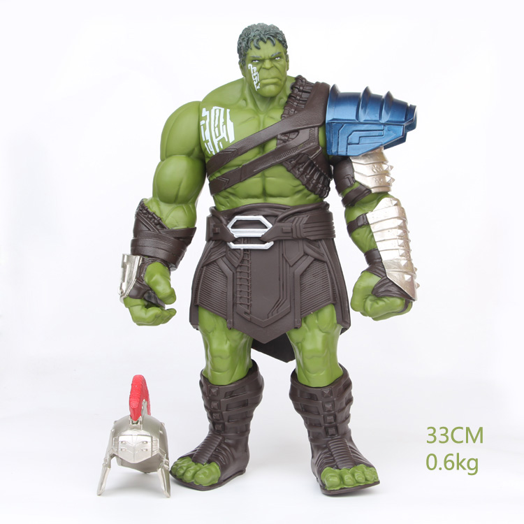 NEW hot 33cm Thor Ragnarok Hulk Gladiator Action figure toys doll collection Christmas gift new hot 22cm avengers hulk pants are cloth action figure toys collection christmas gift doll