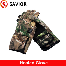 Savior EHGS19C Lithim battery heated glove Outdoor sport for Skiing, golf, fishing, riding, water windproof winter warmth glove