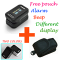 with Pouch Fingertip Pulse Oximeter SPO2 Pulse Rate Parameter Blood Oxygen Saturation Monitor