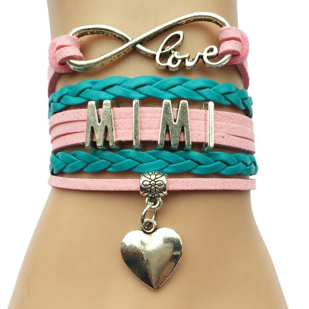 Unendlichkeit Liebe Mimi Armband Beste Mama Weihnachten Geschenk ...