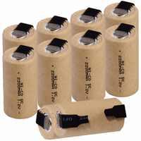 10 piezas SC 2200 mah 1,2 v batería NICD baterías recargables para makita bosch B & D Hitachi metabo dewalt para destornillador eléctrico