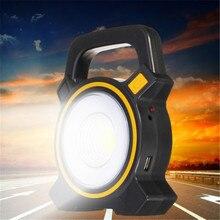 Перезаряжаемый светодио дный 30 Вт COB светодиодный портативный прожектор | наружная садовая Рабочая точечная лампа USB