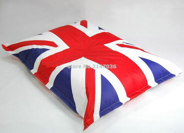 union jack drapeau anglais haricot sac chaise royaume uni. Black Bedroom Furniture Sets. Home Design Ideas