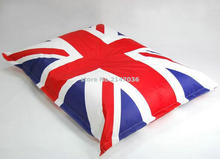union jack english flag bean bag chair, UK frag beanbag outdoor seat cushion, waterproof never shade in color