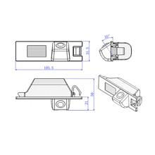 Bem-vindo ordem Para Opel Vauxhall Astra Vectra Antara Zafira Corsa Insignia Meriva Vivaro Câmera retrovisor 100% Real HD câmera CCD