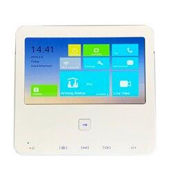 HIK Multi-language DS-KH6300-W 7-inch Touch Indoor Monitor,P2P, IP doorbell, Video Intercom,wired doorbell,build-in WiFi