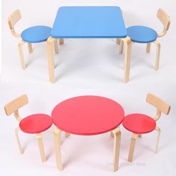 Children's study table and chair 1