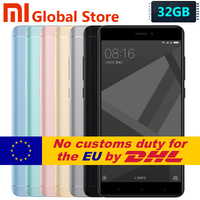 Original Xiaomi Redmi Note 4X 3GB 32GB Mobile Phone Redmi Note 4 X Redmi Note4X Snapdragon 625 Octa Core 5.5