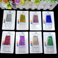 50 box Dream colorful color Candle Cake Party Birthday Party Festival Supplies Lovely Birthday Candles for Kitchen Baking Gifts