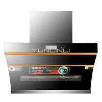180 Вт бытовой Диапазон капот сбоку всасывания Тип кухонный вентилятор Intelligent Touch управление + движения зондирования дым Дымосос GB027