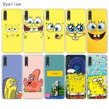 Uyellow SpongeBob SquarePants Soft Case For Samsung A10 A20 A30 A40 A50 A60 A70 A80 A20E Cover Galaxy M10 M20 M30 M40 Coque