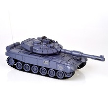 Hot 1:28 RC Tank 27Mhz Infrared RC T90 Tank Remote Control Tank Remote Toy with Musical Flashing for Child Kids Boy RC Tank Toy