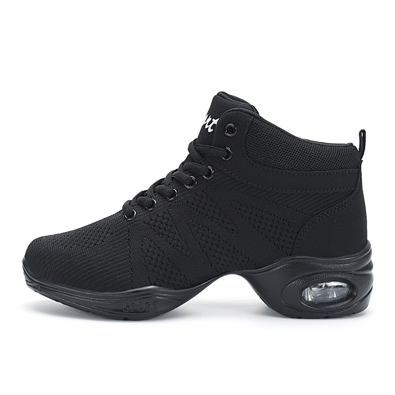2018 New Breath Dancing Sneakers For Women Modern Practice Dance Shoes Cashmere Girls Flexible Jazz Hip Hop Shoes Fitness Man
