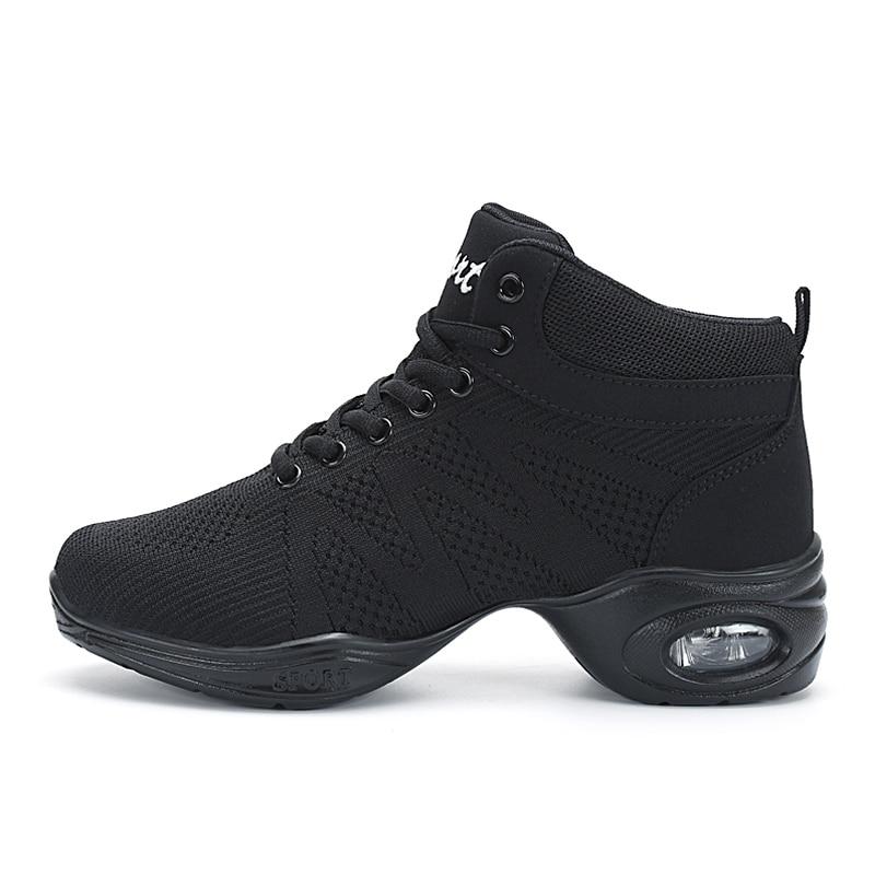2018 New Breath Dancing Sneakers for Women Modern Practice Dance Shoes cashmere Girls Flexible Jazz Hip