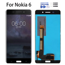 LCD Display 5.5 For Nokia 6 2017 Nokia6 N6 TA-1000 TA-1003 TA-1021 TA-1025 TA-1033 1039 Touch Screen Panel Digitizer Assembly