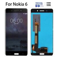 LCD Display 5.5 For Nokia 6 2017 Nokia6 N6 TA 1000 TA 1003 TA 1021 TA 1025 TA 1033 1039 Touch Screen Panel Digitizer Assembly