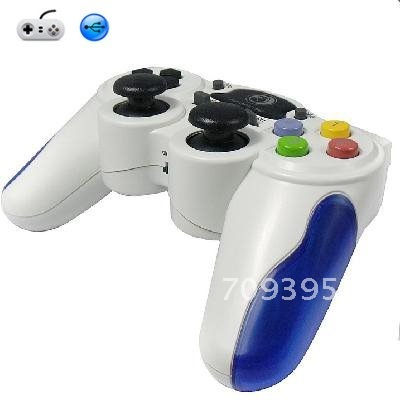 Free Shipping 2.4G 2 in 1 Wireless Game Pad Joypad Controller Gamepads