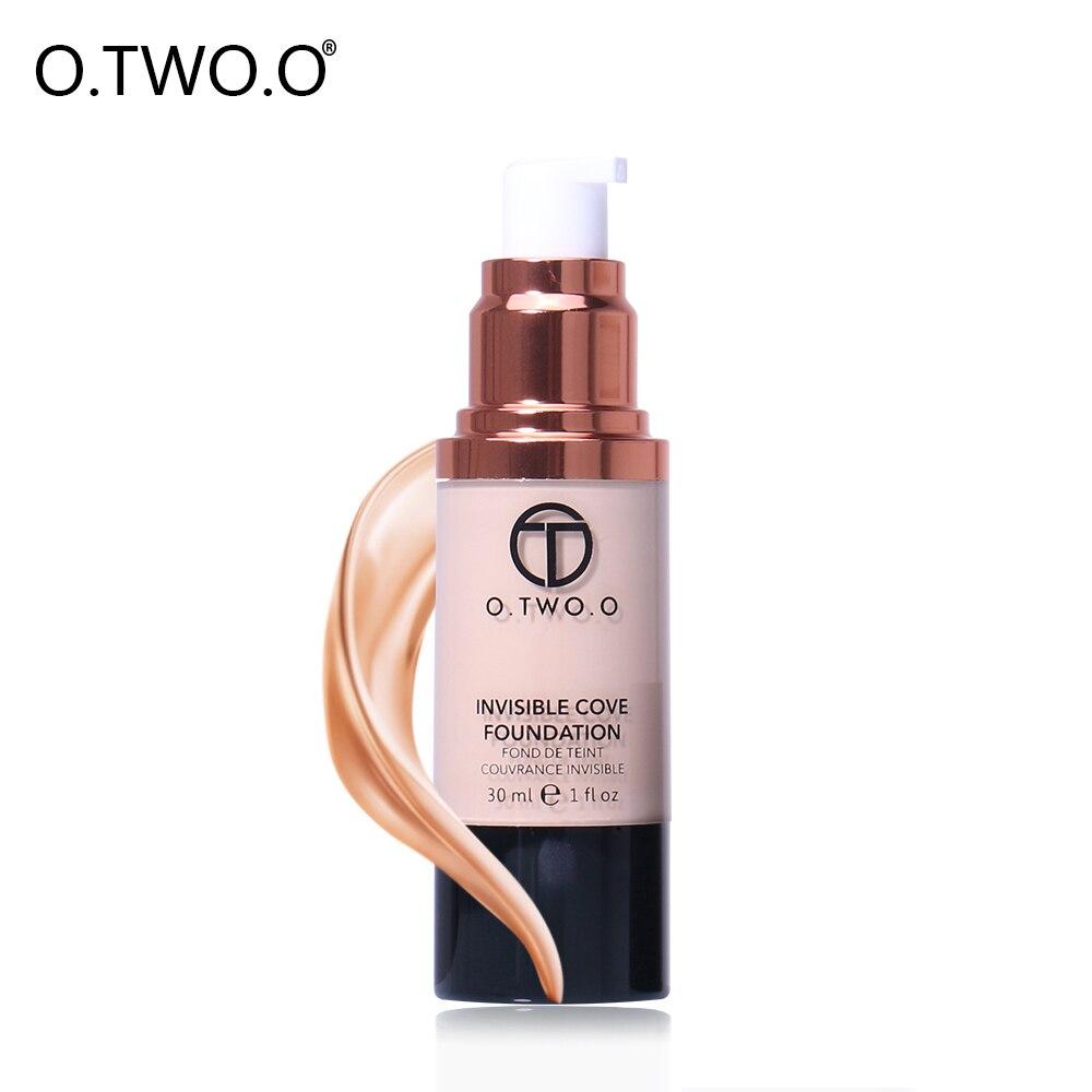 O.TWO.O Flüssige Foundation Makeup Foundation Volldeckung Concealer - Make-up