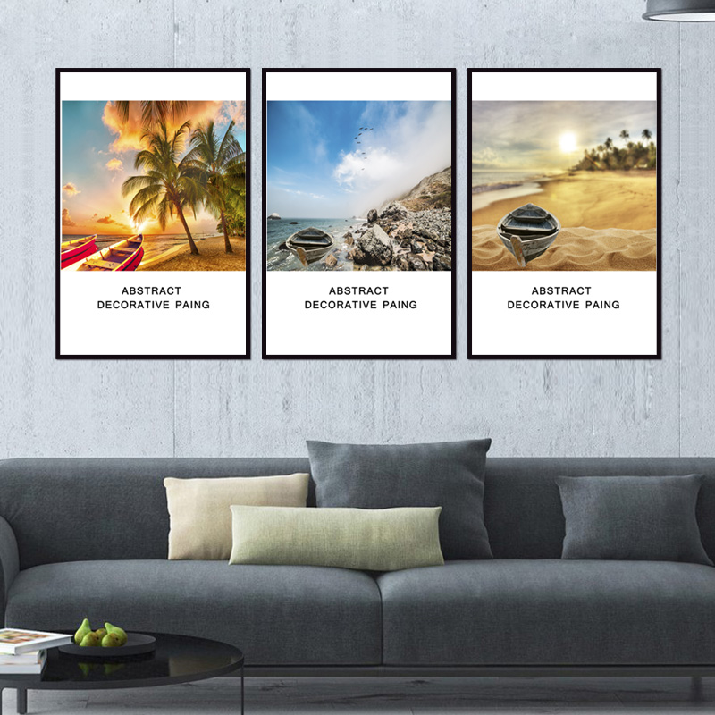 Factory wholesale No Framed Modern landscape Custom Canvas Print On Canvas Printing Wall Pictures 12YM A 564 in Painting Calligraphy from Home Garden