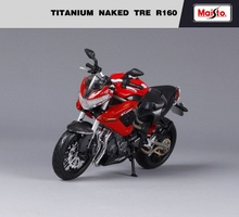 1 12 Maisto Benelli Titanium Naked Tre R160 Motorcycle Diecast Model Toy Kids Collections