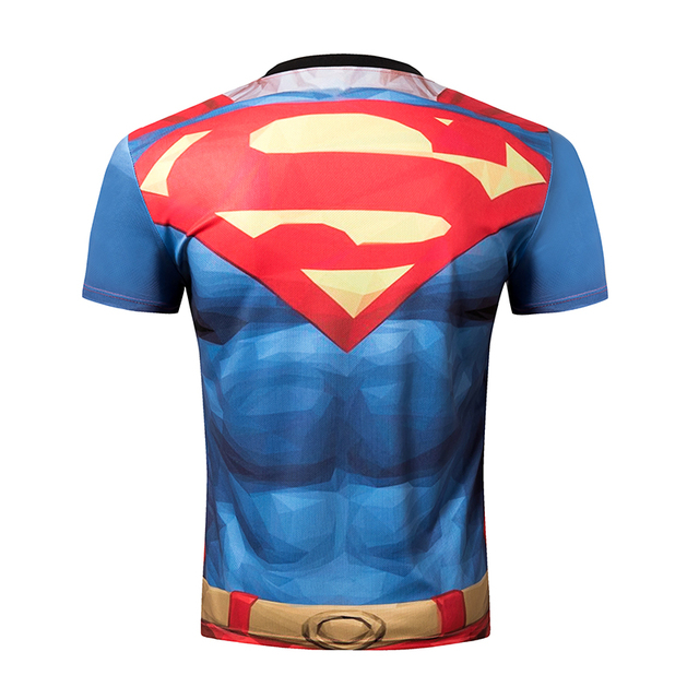 3D superman Men's Shirtsleeves Top