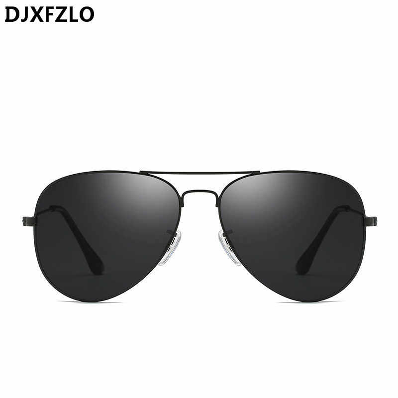 a5cabee808f DJXFZLO Classic Sunglasses Women Men Brand Designer Pilot Driving Mirror Vintage  Sun Glasses Female Male Oculos