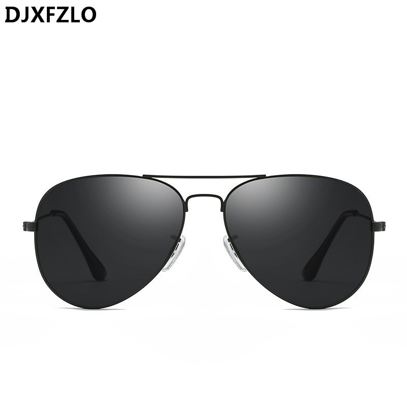 213d2139e162d DJXFZLO Classic Sunglasses Women Men Brand Designer Pilot Driving Mirror  Vintage Sun Glasses Female Male Oculos de sol UV400