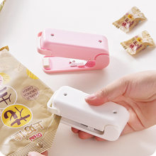 Mini Capper Portable Plastic Bag Sealing Machine with Ceramic Heating Head Home Seal Tools Clips Food Sealer(China)