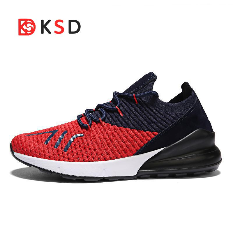 Olangdi New Running Shoes Men Outdoor Breathable Male Mesh Light Shoes Jogging Sneakers Walking Athletics Lovers Sport Shoes