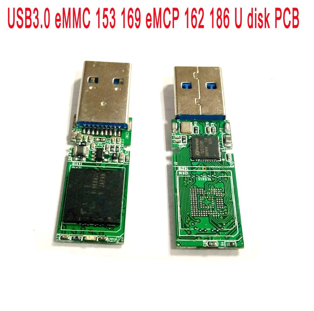 usb30 emmc 153 169 emcp 162 186 u disk pcb ns1081 main