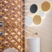 Creative simple LED round eclipse Ceiling lamp Modern Super Bright Mini Light for bedroom foyer livingroom