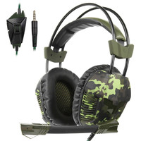 Wired Gaming 3.5 Headphones With Microphone Earphone Headset For PS4 Gaming Headsets For PC Laptops 520