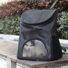 Mochila para transporte de animais, bolsa respirável para carregar animais de estimação