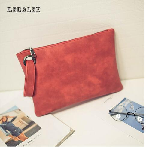 Women's Clutch Bag Fashion Solid Pu Leather Women Envelope Bag Clutches Handbag Female Business European And American Style dtbg pu leather women handbag fashion european and american style totes messenger bag original design briefcase zipper 2017