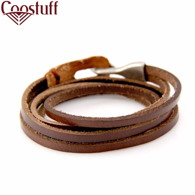 bracelet men pulseira masculina men jewelry Love bracelets & bangles Genuine Leather Bracelet for Woman bracelets & bangles
